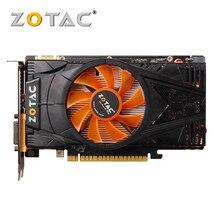 ZOTAC Видеокарта GTX 550 Ti 1 GB GPU GDDR5 графическая карта для nVIDIA карта оригинальный GeForce GTX550 Ti 1GD5 карты Dvi VGA видеокарты