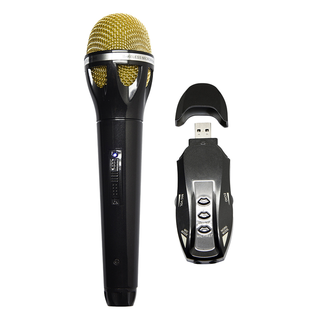 Newest K18 Wireless Handheld Professional Microphone For Personal Entertainment Family bar KTV party Adjustable For Mic Volume