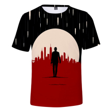 The Film 3D John Wick Men/Women t shirt Fashion Cool 3 Print tshirt Leisure Hot Summer Black Wild Short sleeve Top 4XL