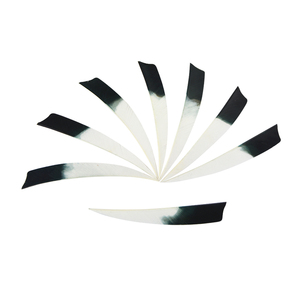 """Image 3 - 50/100pcs 5""""Archery Arrow Feathers Right Wing Turkey Feather Practicing Sports Shooting Hunting Bow And Arrow Accessories"""