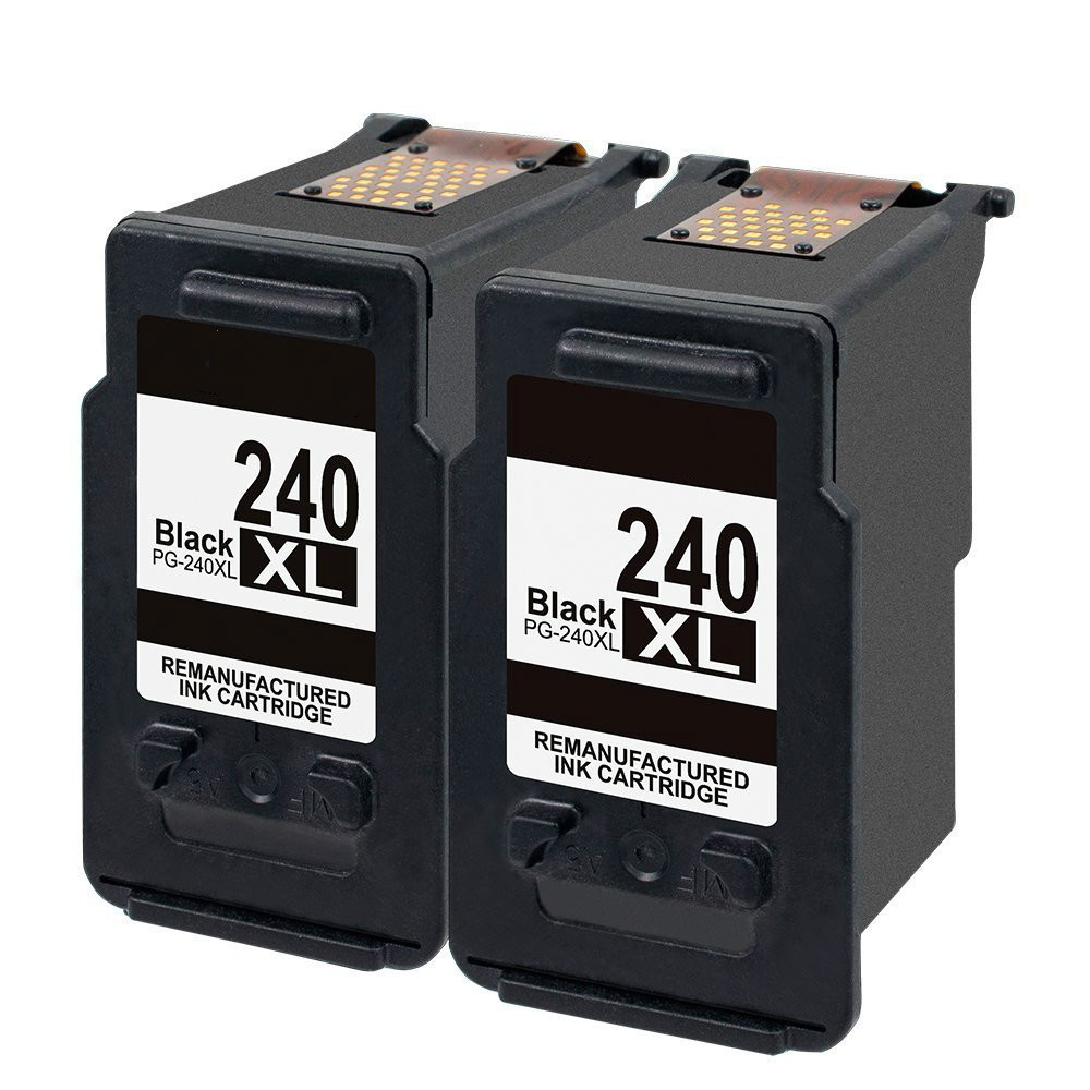 PG-240XL Ink Cartridge for Canon Pixma MG3620 MX532 MG2120 MG2220 MG3120 MG3122 MG3220 MG3222 MX432 MG3520 MX452 MX512 2 suit for canon pg240 remanufactured ink cartridge with dye ink printer cartridge for mx372 432 512 mg2120 mg3120 3220 mg4120