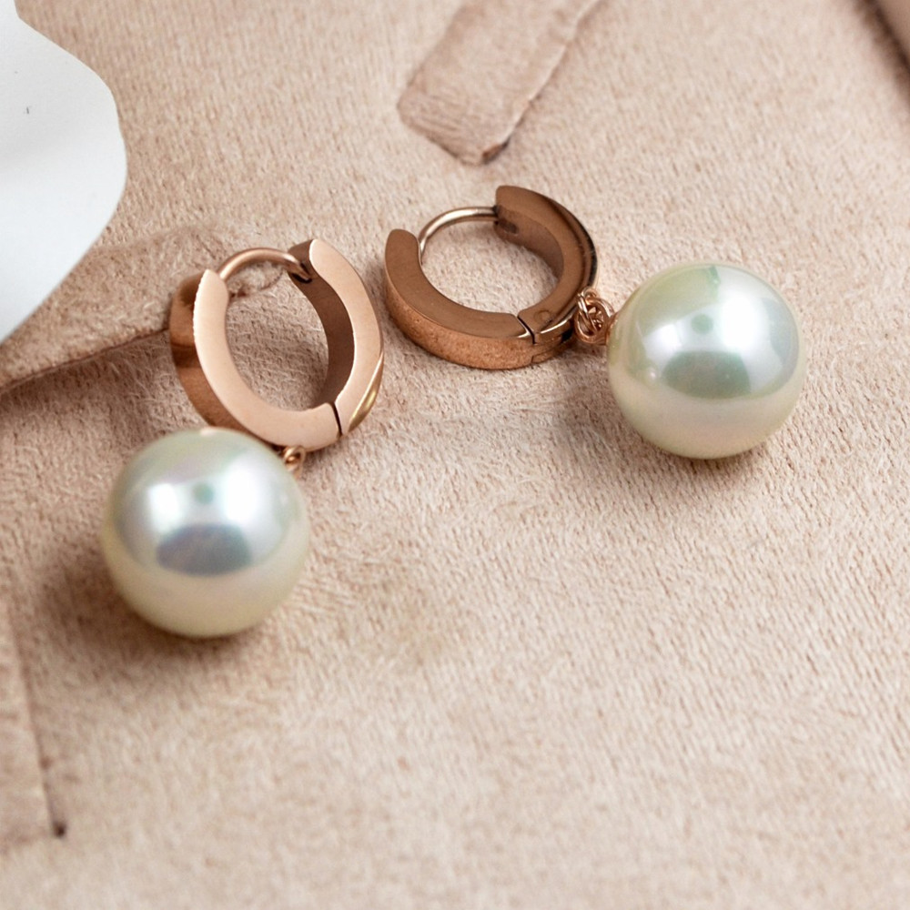 Circle hung simulated pearl drop earrings women wedding decoration circle hung simulated pearl drop earrings women wedding decoration covered button brincos online shopping india style jewelry in drop earrings from jewelry junglespirit Gallery
