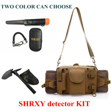 2018 Upgraded Sensitive Gp-pointerII Metal Detector Kit Pro Pinpointing Hand Held Metal Detector with Toolkit Pockets and Shovel недорого