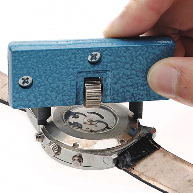 Watch Repair Tool Kit Watchmaker Back Case Opener Wrench Cover Remover Adjustable Watch Back Case Wrench Opener Repair Screw Watches Watch Accessories