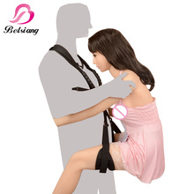 Top Adult Sex Swing Chairs For Couples Flirting Bdsm Bondage Sex Furniture Straps Swing Restraint Adjustable Sex Tools For Sale