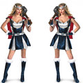 Marvel Comics Тор костюм женщины хэллоуин фантазии женский косплей Костюм С Плащ супергероя женского Тор w1462