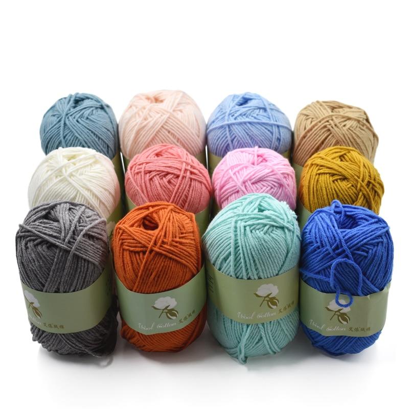 yarn for knitting 100 cotton skin friendly hand knitting yarn lana trapillo para tejer crochet thread