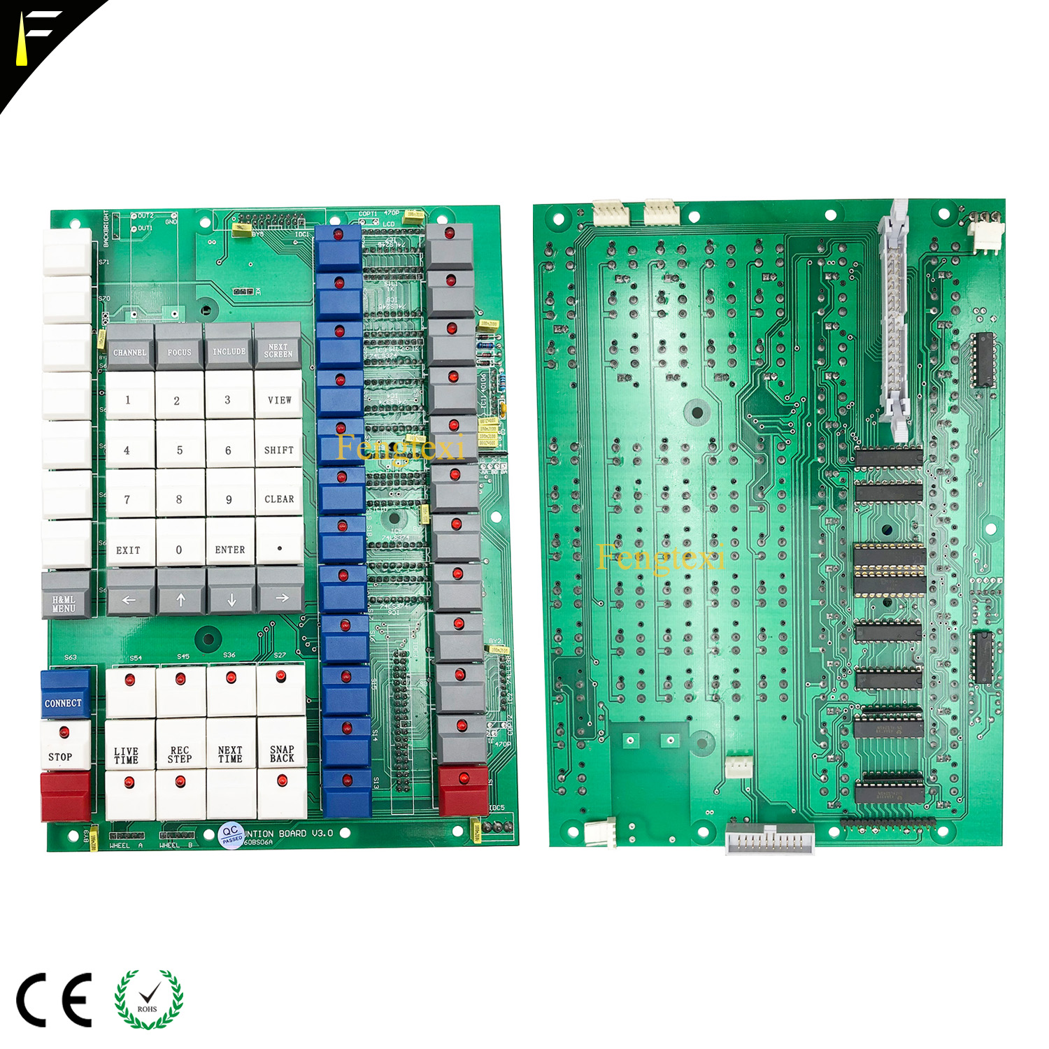 All New 2010 Pearl Controller Function Operate Mother Board 2008 Pearl Console Editor Board Function Board with All Buttons