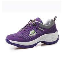 Women Running Shoes Lightweight Outdoor Sport Shoes Breathable  Running Sneakers For Women Height Increasing