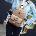 Joypessie Women Shoulder Bag For Teenage Girls Vintage Rucksack backpack Girls Backpack mochila Women leather backpack