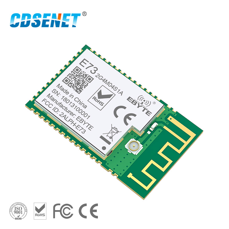 NRF52810 Bluetooth 5.0 Module 2.4GHz Transmitter Receiver CDSENET E73-2G4M04S1A Ble 5.0 4dBm Low Power Transceiver