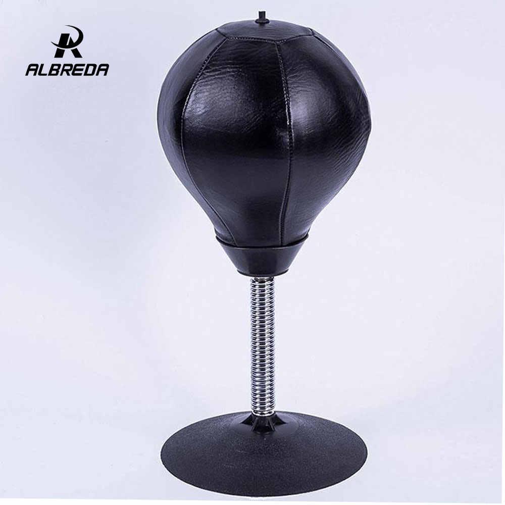 Albreda Hoge Kwaliteit Bureau Boksen Bokszak Speed Bal Zakken Pu Punch Training Fitness Gym Sport Praktische Stress Release