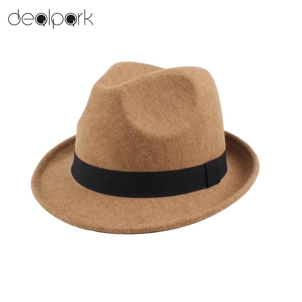 5f76c0d6df7 Detail Feedback Questions about 2019 Fashion Unisex Fedoras Wide ...