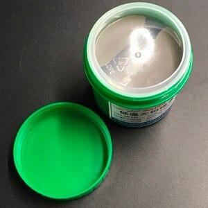Image 2 - Hot Koop! SD 528 Lage Temperatuur Smt Loodvrij Smt Soldeerpasta 500G Sn42Bi58 Hoge Kwaliteit Soldeer Tin Pasta Gratis Verzending