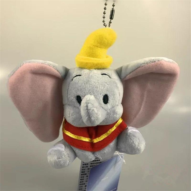 mini 13cm pendant cartoon Dumbo Elephant plush doll toy Children's toys Home car