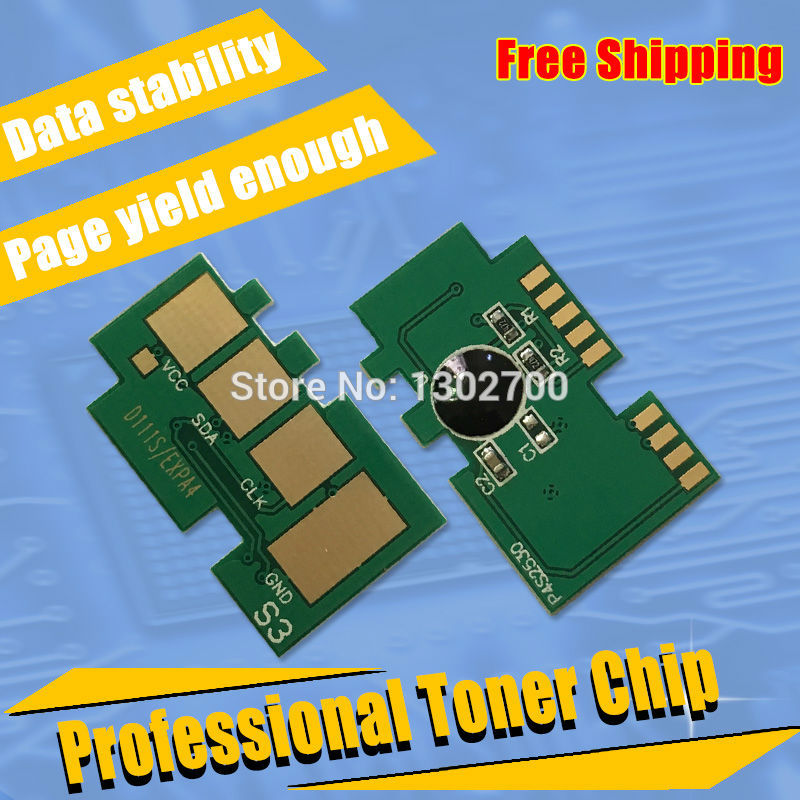 mlt d111s 111s 111 d111 reset chip for Samsung Xpress SL-M2020W M2022 SL M2020 SL-M2020 M2070w mlt-d111s toner Laser printer es7411 reset chip for oki 7411 toner chip laser printer cartridge chip free shipping