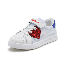 Sneakers Boys Summer Breathable Mesh Children Shoes Single Net Cloth Kids Sports Casual Girls