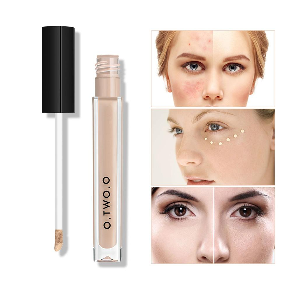 O.TWO.O New Hot Sale 4color Makeup Concealer Liquid Concealer Convenient Pro Eye Concealer Cream Face Makeup Corrector For Face4