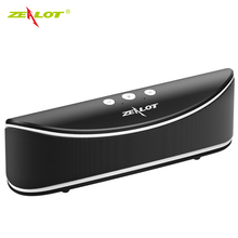 Zealot S2 Portable Wireless Bluetooth Music Center Speaker Support TF Card Flash Drive FM Radio Surround Stereo For Smartphone