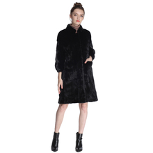 Natural mink fur coat Real Pictures Mink coats Genuine imported Mink fur coats womens fashion Lady coat