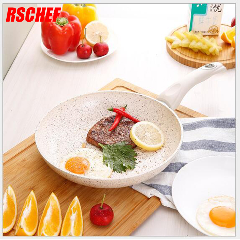 1Pcs 20 CM Creative Non-stick Eggs Ham PanCake Maker Frying Pans No Oil-smoke Breakfast Grill Pan Gas Cooker