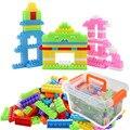 Brinquedos educativos para Crianças Blocos de Construção de Conjuntos de Esclarecimento Intelectual com Caixa 250 pcs