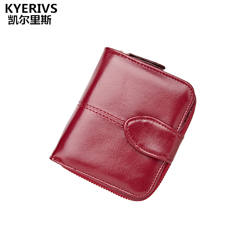 Fashion PU Leather Wallet Woman Small Coin Wallet Women Purse Brand Designed Mini Coin Purse Womens Wallets and Purses Short