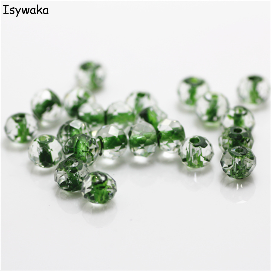 Beads & Jewelry Making 100% Quality Isywaka Green Golden Colors 4mm 145pcs Rondelle Austria Crystal Glass Beads Loose Faceted Round Beads Jewelry Making
