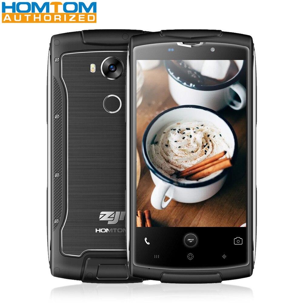 bilder für HOMTOM ZOJI Z7 4G Smartphone 5,0 zoll Android 6.0 MTK6737 Quad Core 2 GB RAM 16 GB ROM IP68 Wasserdicht 8MP Kamera Handy