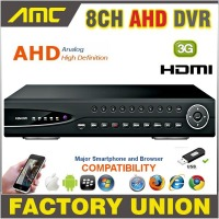 2015 AHD 8CH CCTV DVR Recorder 720P Real Time Digital Video Recorder H 264 Hybrid NVR