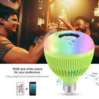led bulb LED Wireless Light Bulb Speaker RGB Smart Music Bulb led lamp e27