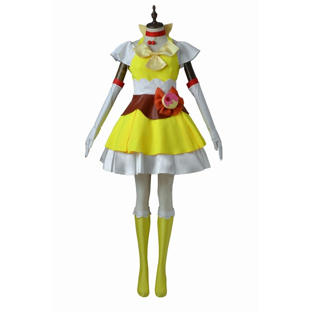 kirakira precure a la mode arisugawa himari cosplay costume adult halloween girl women female. Black Bedroom Furniture Sets. Home Design Ideas