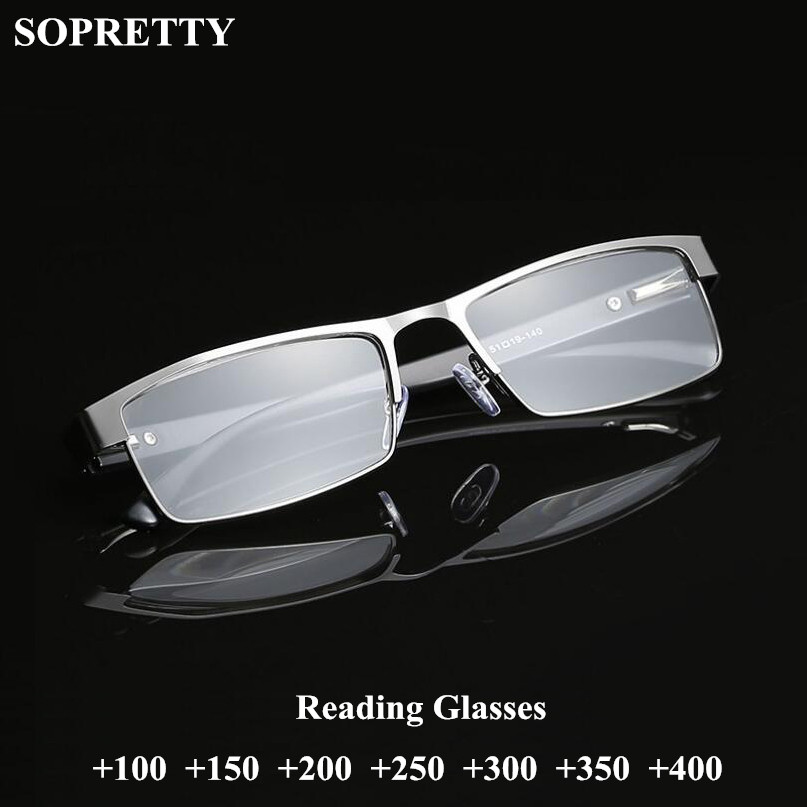 0c0faa095f MEN Titanium Alloy Reading Glasses