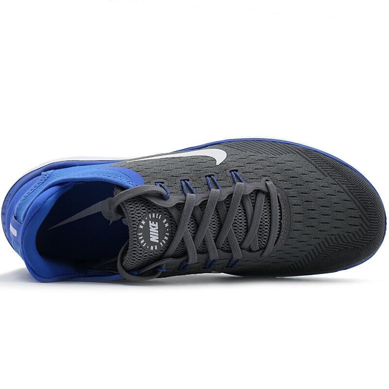 Chaussures de course pour hommes NIKE Original officiel chaussures de course Nike chaussures respirantes à lacets stabilité Sports de plein air marche 942836 - 4