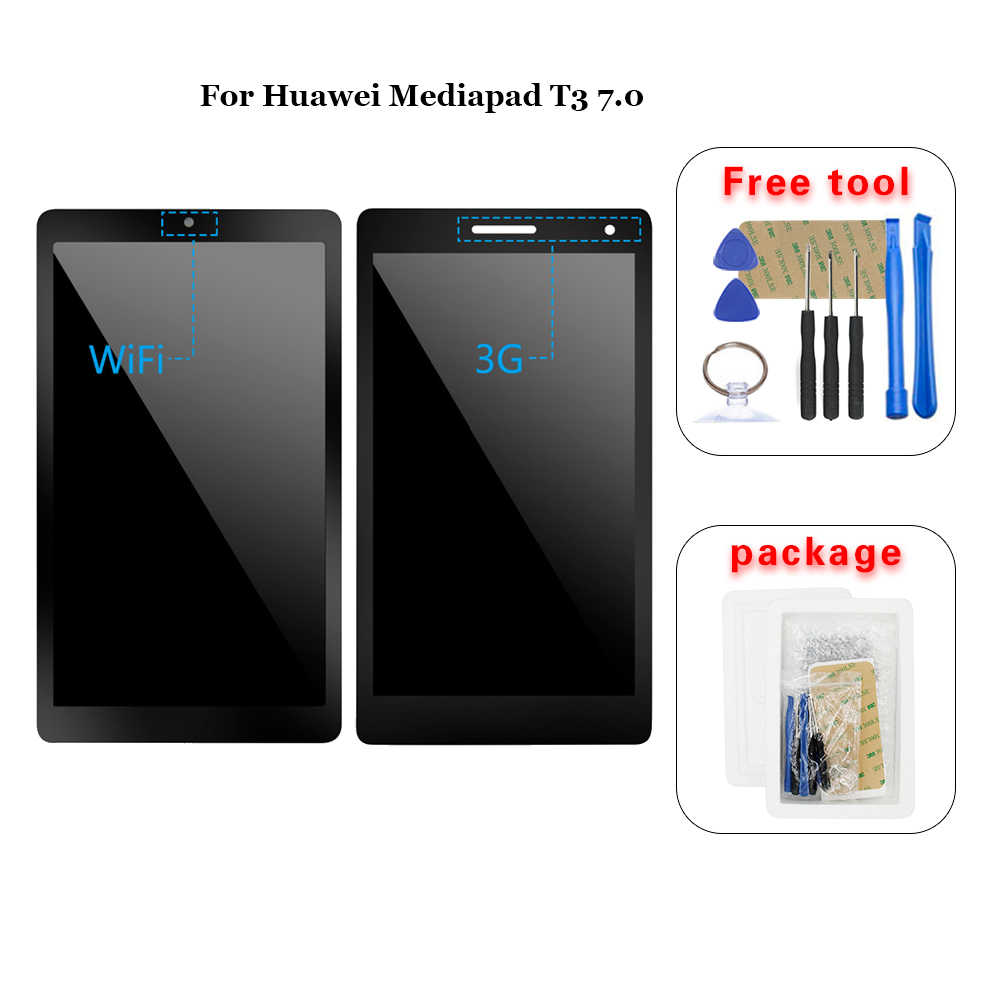 Per Huawei Mediapad T3 7.0 BG2-W09 BG2-U01 BG2-U03 display Lcd Touch Screen Digitizer assembly