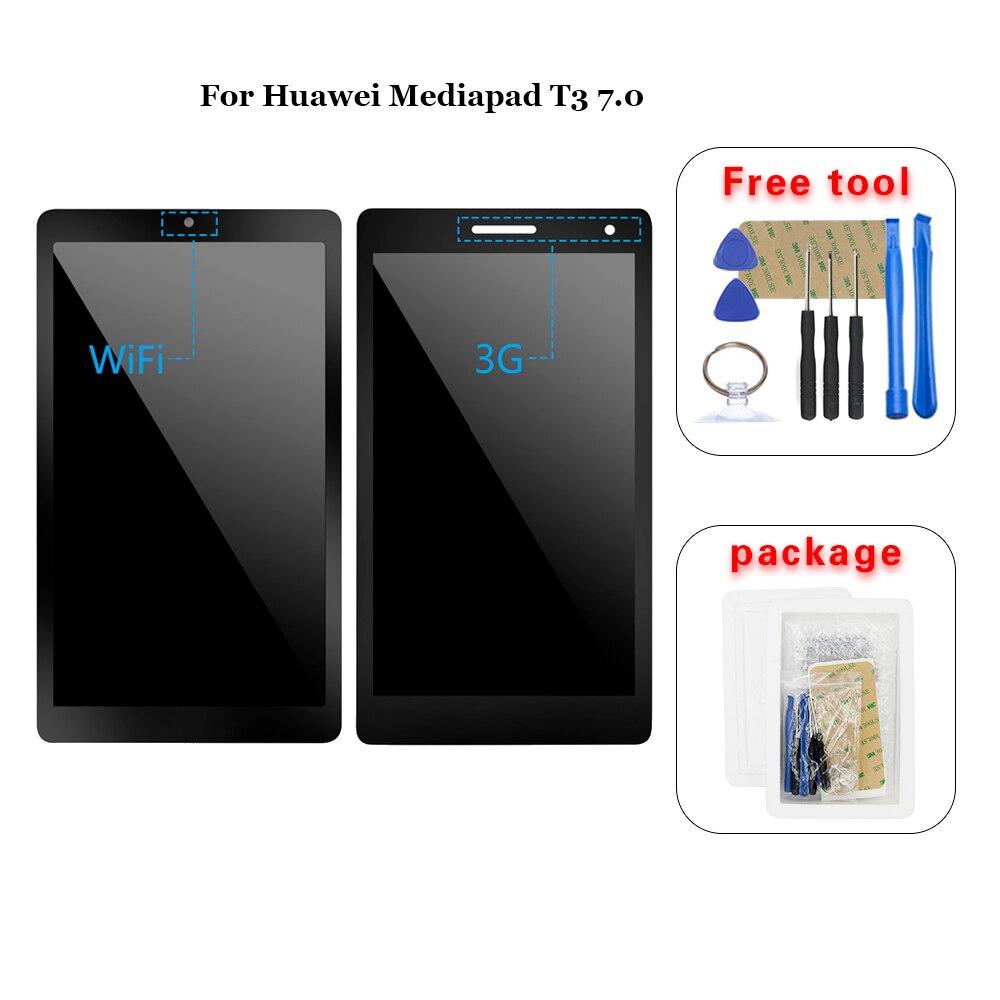 Для Huawei Mediapad T3 7,0 BG2 W09 BG2 U01 ЖК дисплей кодирующий преобразователь сенсорного экрана в сборе|ЖК-экраны и панели для планшетов|   | АлиЭкспресс