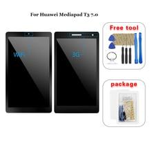 Для Huawei Mediapad T3 7,0 BG2-W09 BG2-U01 ЖК-дисплей кодирующий преобразователь сенсорного экрана в сборе