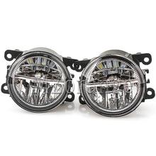 For Mitsubishi Outlander L200 Pajero Grandis Galant 2003-2015 led Fog Lights 2 pcs Fog Lamp Assembly Super Bright Fog Light цены