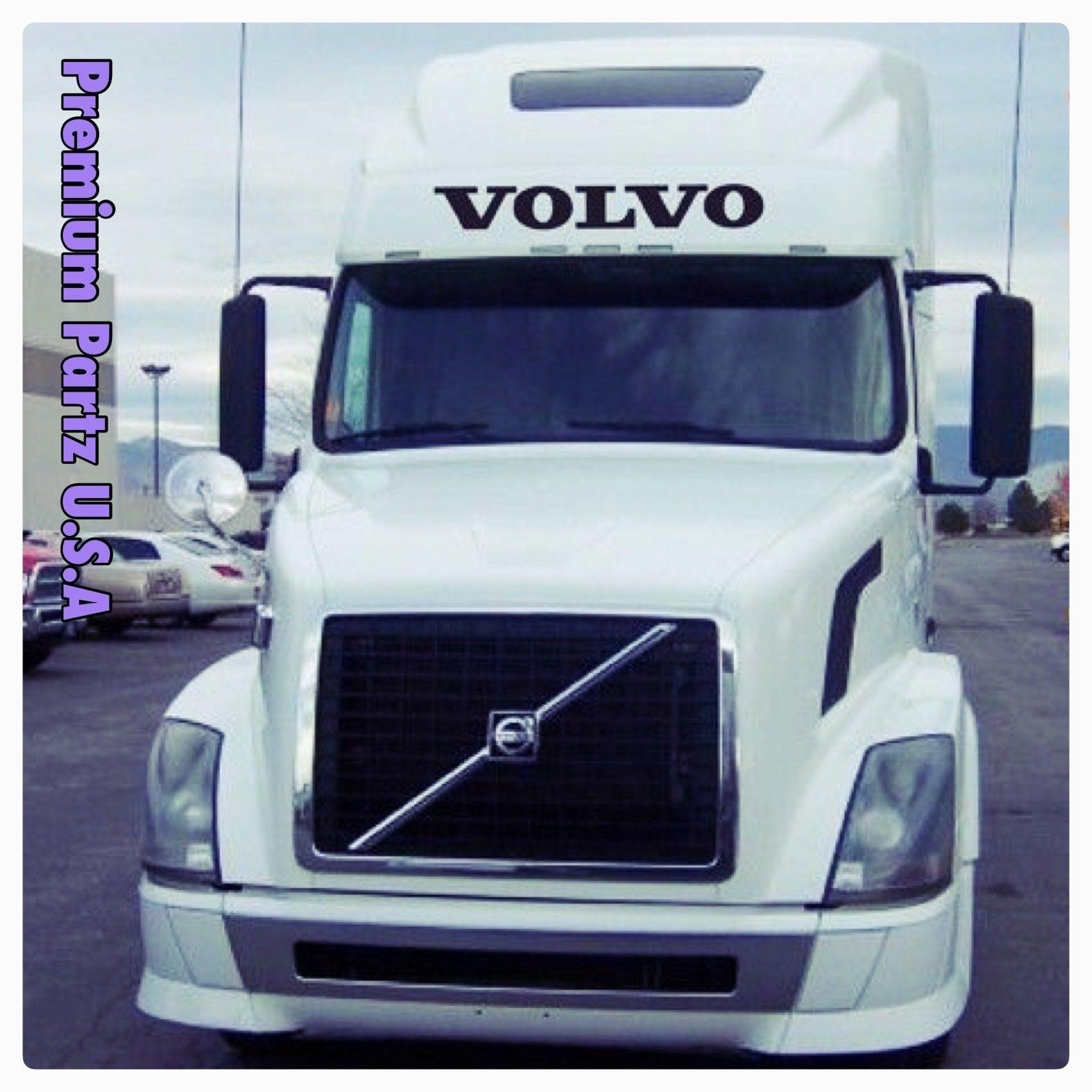 Volvo Daf Man Truck Side Window Stickers Decals Graphics set of 2