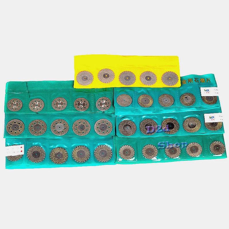 30 pcs dental diamante polimento roda viu 04