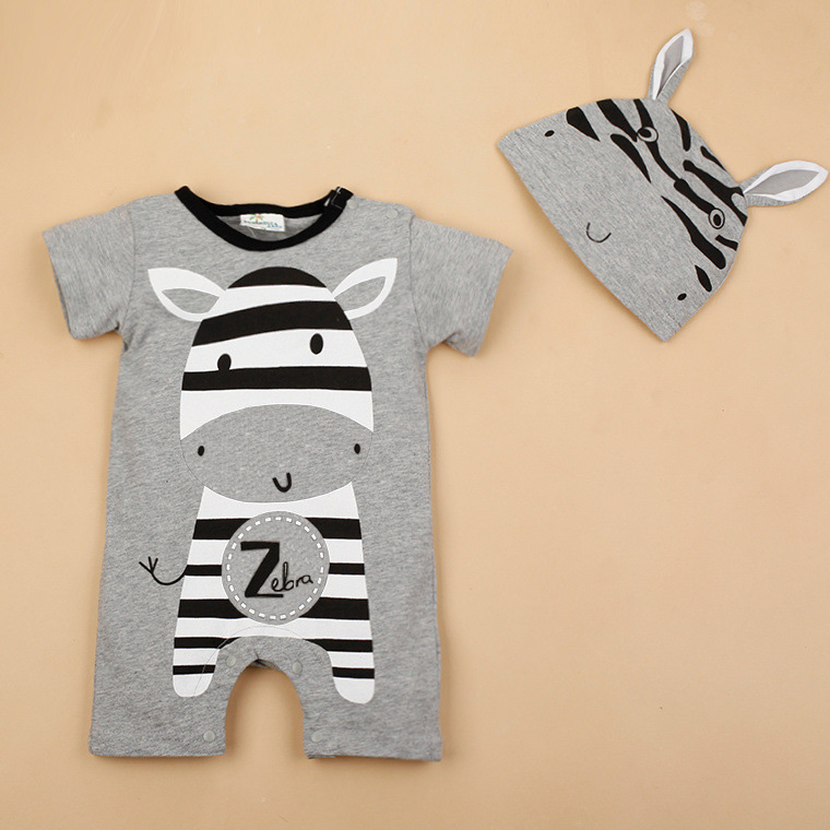ad6588394b65 Baby Boy Clothes 2017 Summer Baby Girls Clothing Sets Cotton Baby ...