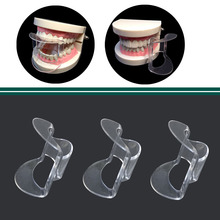 25 pcs/lot Dental Lip Retractor Cheek Expander Mouth Opener for Anterior Teeth Intraoral Equipment 4 pcs dental orthodontic photographic mirror stainless steel autoclavebale 10 pcs t shape intraoral cheek lip retractor opener