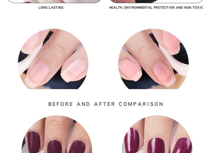 Nails Art & Werkzeuge Tauch Pulver Gradienten Französisch Nagel Farbe Glitter Ohne Lampe Cure Maniküre Nagel Kunst Dekorationen 100% Original