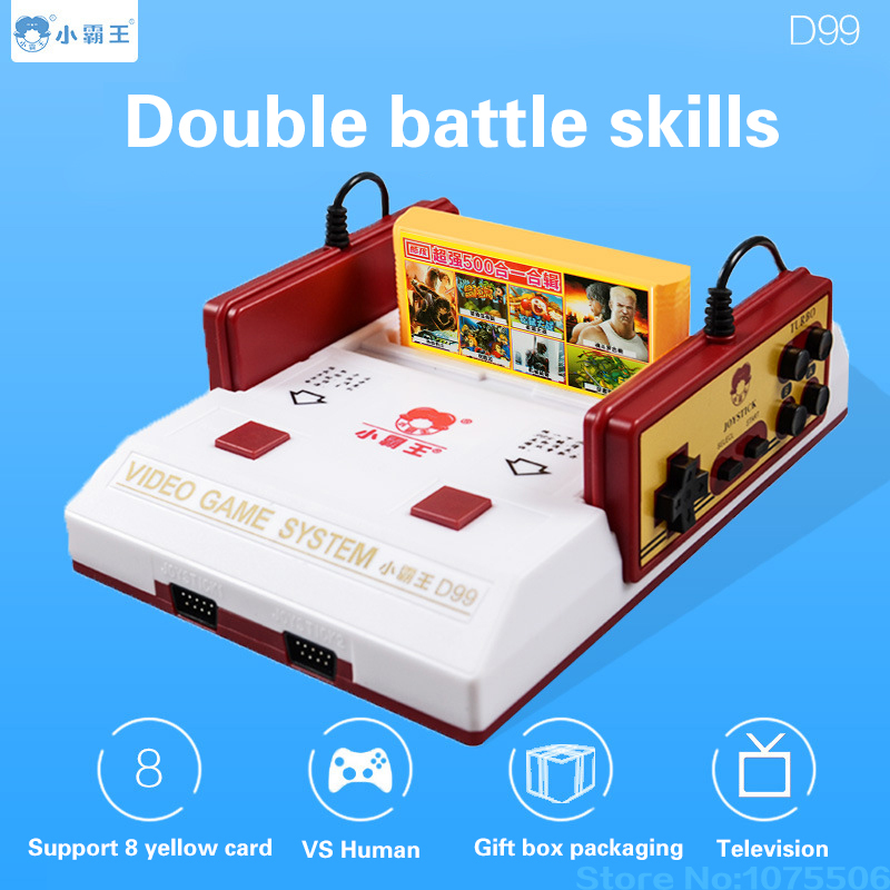 Coolboy D99 TV game player Video Game Console Red and white