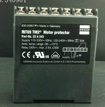 [SA] Germany KRIWAN INT69TM2 compressor motor motor protection