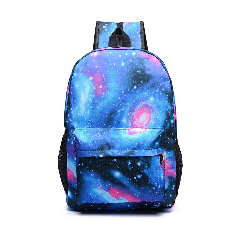 Game Luminous Starry Sky Backpacks Teenagers Like Printing School Bag Unisex Large Capacity Backpack Wholesale