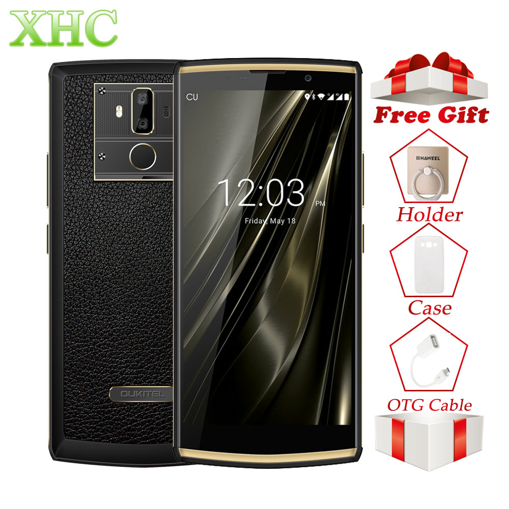 OUKITEL K7 Android 8.1 6,0 zoll FHD + 1080*2160 pixel Smartphones RAM 4 gb ROM 64 gb Schnelle Lade dual SIM 13MP 5MP Handys