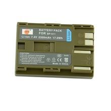 DSTE BP-511 BP511A Battery for Canon 20D 30D 40D 50D MV 30i 300 300i ZR20 25MC Camera Rechargeale 7.4v 2300mAh