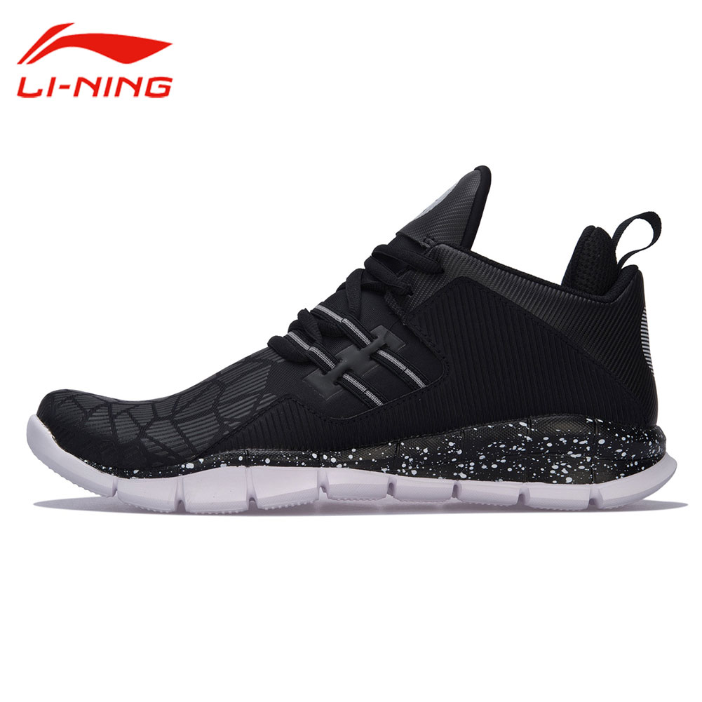 Li Ning Men Wade Series Light basketball Culture Shoes Crack Pattern Breathable Sneakers LINING Wearable Sports Shoes ABCM093