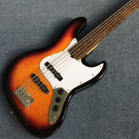 Best Bass Top quality Rick 5 strings Electric Bass guitar, Free shipping